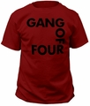 Gang Of Four Logo Adult t-shirt pre-order