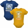 Garfield infant snapsuits