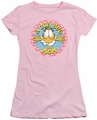 Garfield juniors t-shirt A Big Hug For Mom pink
