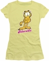 Garfield juniors t-shirt Adorable banana