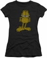 Garfield juniors t-shirt Big Ol' Cat charcoal
