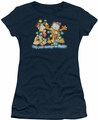 Garfield juniors t-shirt Bright Holidays navy