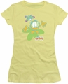 Garfield juniors t-shirt Butterfly banana