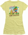 Garfield juniors t-shirt Camp Garfield banana
