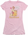 Garfield juniors t-shirt Can't Win pink