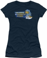 Garfield juniors t-shirt Contradicition In Terms navy