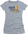 Garfield juniors t-shirt Dad Is Number One heather