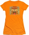 Garfield juniors t-shirt From The Depths orange