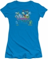 Garfield juniors t-shirt Garfield And Friends turquoise