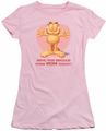 Garfield juniors t-shirt Have You pink