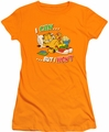 Garfield juniors t-shirt I Can... orange