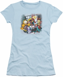 Garfield juniors t-shirt Mine! light blue