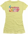 Garfield juniors t-shirt Mom Is Number One banana