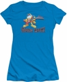 Garfield juniors t-shirt Moms Rock turquoise