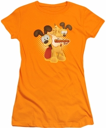 Garfield juniors t-shirt Odie orange