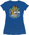 Garfield juniors t-shirt Performing royal
