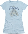 Garfield juniors t-shirt Prowl light blue