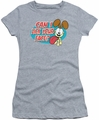 Garfield juniors t-shirt Question heather