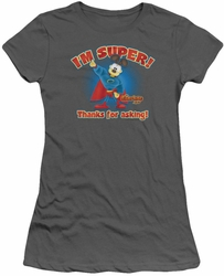 Garfield juniors t-shirt Super charcoal