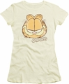 Garfield juniors t-shirt Water Color Cat cream