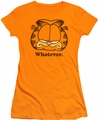 Garfield juniors t-shirt Whatever orange