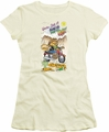 Garfield juniors t-shirt Wild One cream