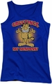 Garfield juniors tank top Minions royal