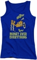Garfield juniors tank top Money Is Everything royal