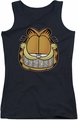 Garfield juniors tank top Nice Grill black