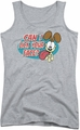 Garfield juniors tank top Question athletic heather