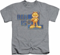 Garfield kids t-shirt Dad Is Number One heather