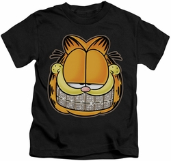 Garfield kids t-shirt Nice Grill black