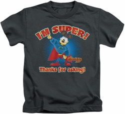 Garfield kids t-shirt Super charcoal