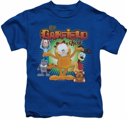 Garfield kids t-shirt The Garfield Show royal