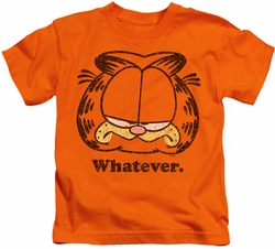 Garfield kids t-shirt Whatever orange