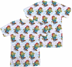 Garfield mens full sublimation t-shirt Cool Cat