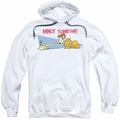 Garfield pull-over hoodie Annoy Someone adult white