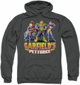 Garfield pull-over hoodie Beyond adult charcoal