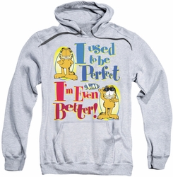 Garfield pull-over hoodie Even Better adult athletic heather