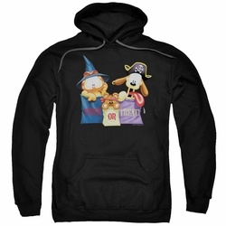 Garfield pull-over hoodie Grab Bags adult black