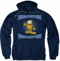 Garfield pull-over hoodie Heads Or Tails adult navy