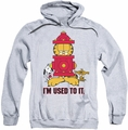 Garfield pull-over hoodie I'm Used To It adult athletic heather