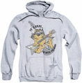 Garfield pull-over hoodie I'm With The Band adult athletic heather