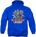 Garfield pull-over hoodie Make A Difference adult royal blue