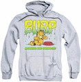 Garfield pull-over hoodie Manners adult athletic heather