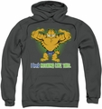Garfield pull-over hoodie Nothing Like This adult charcoal