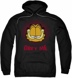 Garfield pull-over hoodie Obey Me adult black