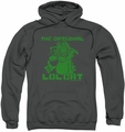 Garfield pull-over hoodie Og LOL adult charcoal