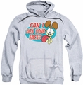 Garfield pull-over hoodie Question adult athletic heather