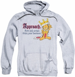 Garfield pull-over hoodie State Your Business adult athletic heather